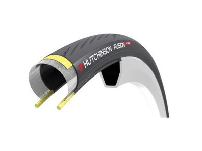HUTCHINSON Fusion 5 Performance Road Tyre 700×25, 11Storm, Tubeless Ready, Hardskin